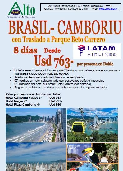 BALNEARIO CAMBORIU- BRASIL EN TEMPORTADA BAJA