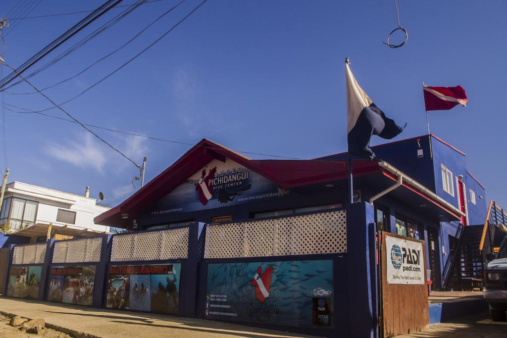 La Casa Azul diving hostel